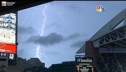 Lightning Delay