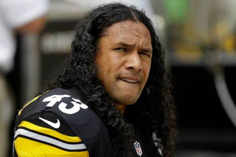 troy polamalu set for rare haircut welcome to the right