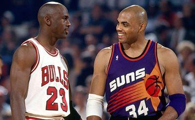 Barkley vs. MJ!