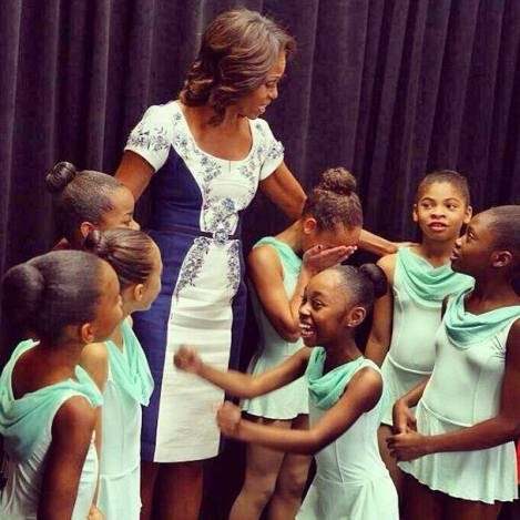 Harlem meet the First Lady!