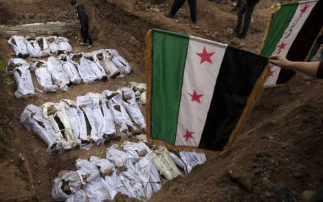 As the world celebrates the international day of peace, Syrian people continue sacrificing their lives as a price for freedom