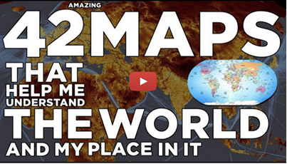 42 maps that help you understand the world