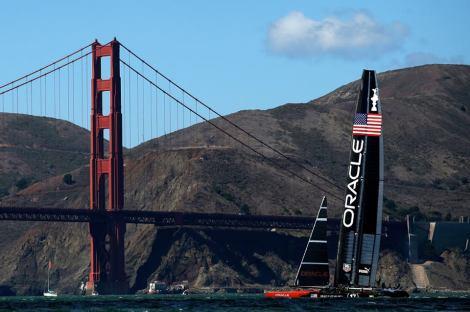 Oracle Team USA BEATS New Zealand!