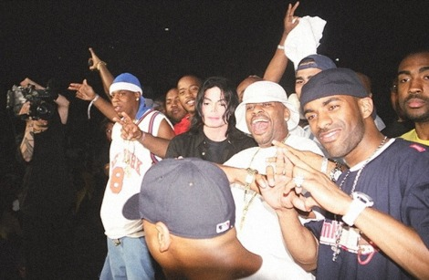 Roc-a-fella Records x Michael Jackson.
