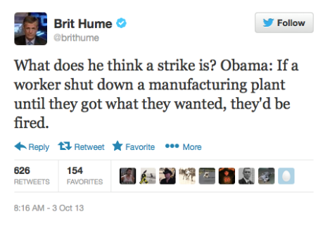 Conservatives Shockingly Ignorant of What a Strike is