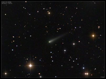 Comet ISON Approaches